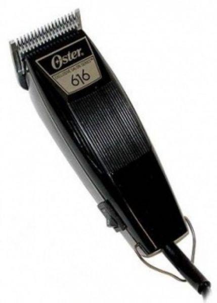 OSTER 616-91 stříhací strojek + 2 střihací hlavy + Gembird - stlačený vzduch, 400 ml