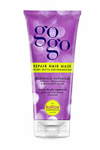 KALLOS GOGO REPAIR HAIR MASK - maska na vlasy 200 ml