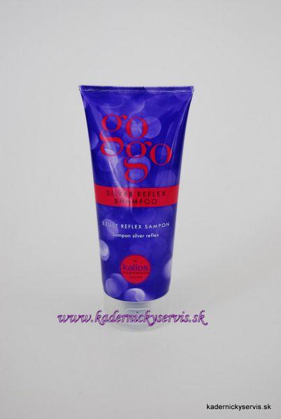 Kallos gogo Silver  - strieborný šampón 200 ml