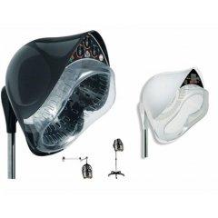 Sušiaca helma Napoleon, manuálne ovládanie, čierna alebo biela farba, na stojane