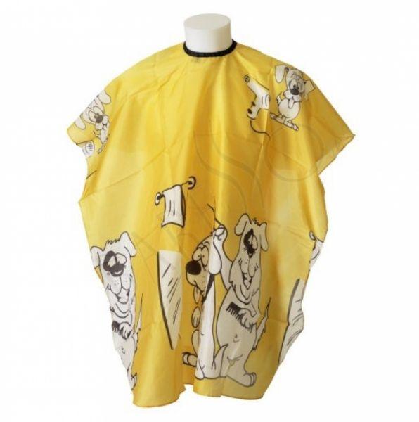 BraveHead 5580 - pláštenka detská  na strihanie, žltá, na háčik
