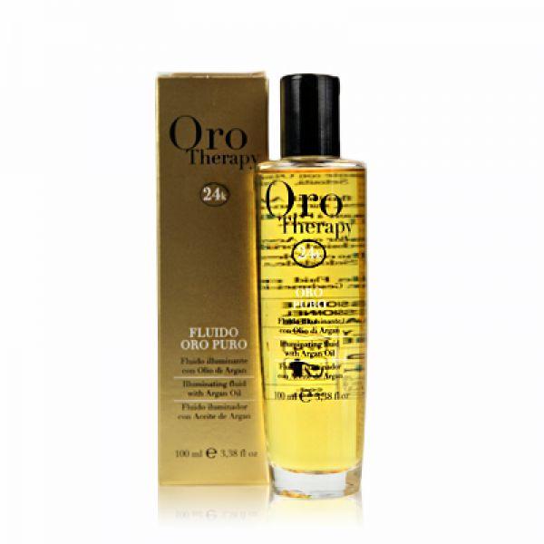 Fanola ORO PURO ELIXIR OIL - čisté zlato - olej na vlasy 100 ml
