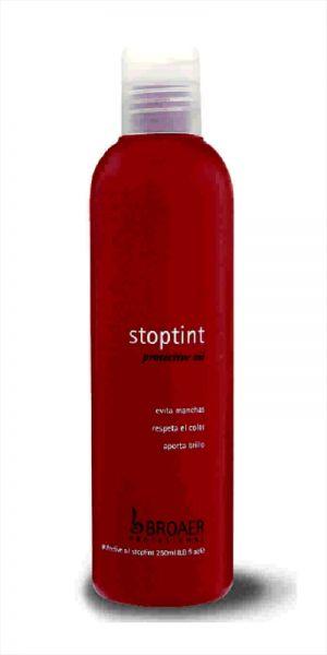 Broaer STOPTINT protective oil - olej na pokožku při barvení vlasů, 250 ml