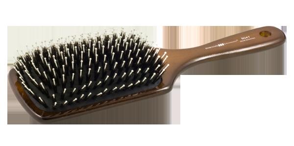 Hercules Sägemann 9047 - kefa na vlasy so štetinami z diviaka, 11 radová, veľká
