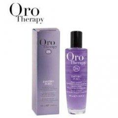 Fanola Oro Therapy ZAFFIRO PURO - ochranné sérum na blond, odfarbované a melírované vlasy, 100 ml