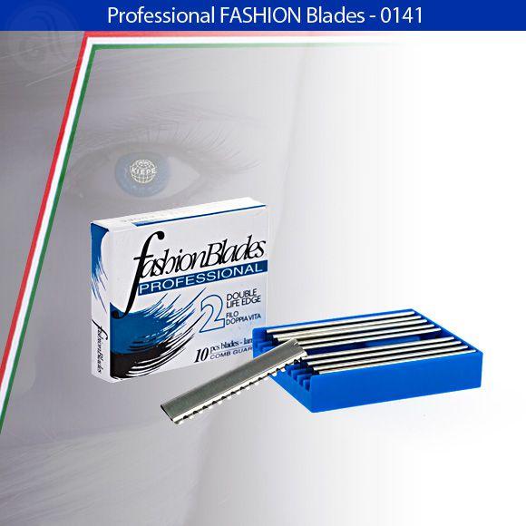 Náhradné žiletky 0141 do efilačných nožov Slim a Ergos, 10 ks