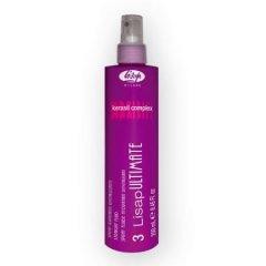 Lisap Ultimate STRAIGHT FLUID - fluid pro vyhlazení vlnitých vlasů, 250 ml