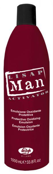 Lisap MAN DEVELOPER - Activator k MAN barvám na vlasy pro muže, 1000 ml