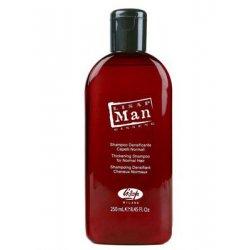 Lisap Man Thickening shampoo - Posilující šampon, 250 ml