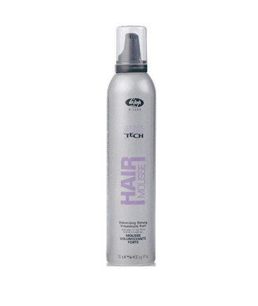 Lisap High Tech Volumizzing Mousse - objemové pěnové tužidlo, 300 ml