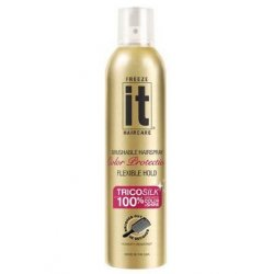 Freeze it Color Protection Hair Spray 24 Hour Hold - 24 H lak na vlasy s ochranou barvy, 220 g