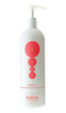 Kallos KJMN Nourishing Shower Gel - sprchový gel s pumpou, 1000 ml