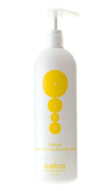 Kallos kjmn tangerine shower gel - sprchový šampón mandarínka s pumpou, 1000 ml
