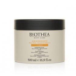 Telový exfoliant BYOTHEA Exfoliating scrub, 500 ml