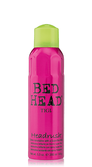 Bed head TIGI Headrush Styling shine spray - lesk na vlasy, 200 ml