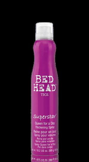Bed head TIGI Superstar Tickening spray - sprej na okamžitý, bohatý objem vlasov, 320 ml