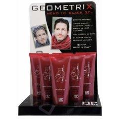 Geometrix MENO 10 Black Gel - gélová maska na vlasy pre mužov - dopĺňa pigment, 250 ml