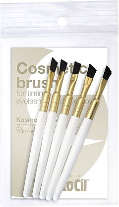 RefectoCil hard brush - kozmetický štetček na farbenie obočia, 1ks