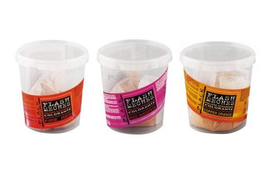 Flash meches - farebné práškové melíre, 250 g