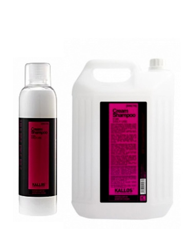 Kallos Cream Shampoo - jemný krémový šampón na časté používanie v salónoch