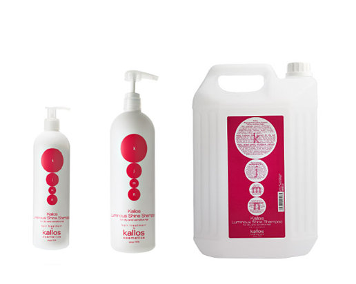 Kallos KJMN Luminous Shine shampoo - šampon na vlasy s vysokým leskem