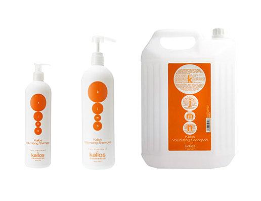 Kallos kjmn Volumizing Shampoo - objemový šampón na jemné vlasy bez objemu