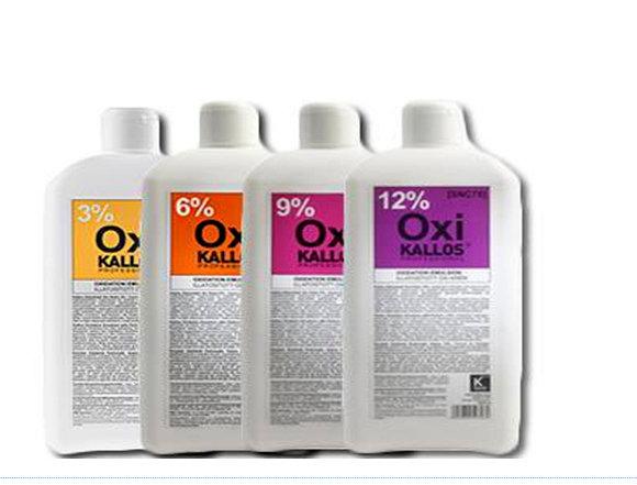 Kallos OXI Cream - krémový parfumovaný peroxid, 1000 ml
