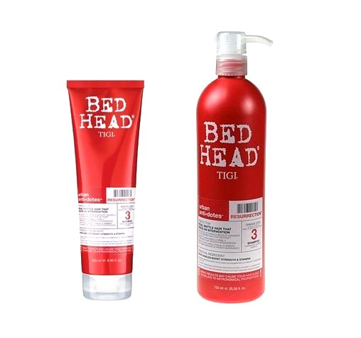 TIGI Bed Head Resurrection Shampoo - rekonstrukční šampón pro suché a unavené vlasy