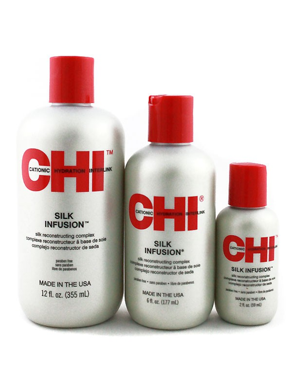 CHI SILK INFUSION - komplex na regeneráciu vlasov