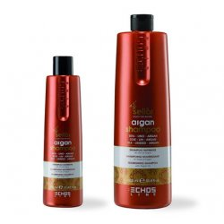 Echosline seliár argan shampoo - výživný šampón na vlasy s argánovým a ľanovým olejom