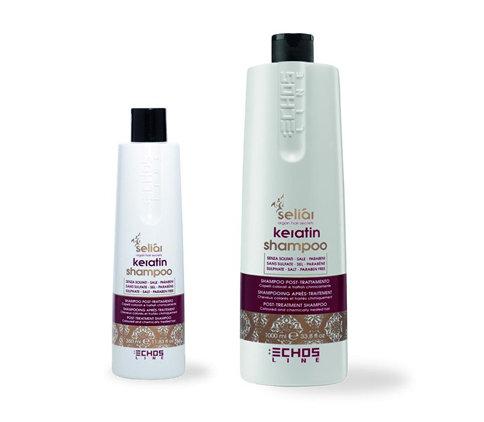 Echosline seliár keratin shampoo - regeneračný šampón na vlasy s keratínom