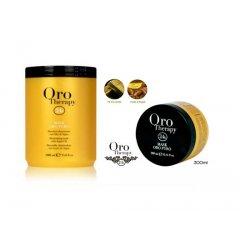 Fanola Oro Therapy mask Oro puro - regeneračná maska na vlasy s 24k zlatom