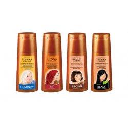 Henna color shampoo - henna šampóny na farbené vlasy
