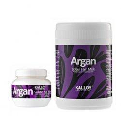 Kallos ARGAN Colour hair mask - maska na farbené vlasy