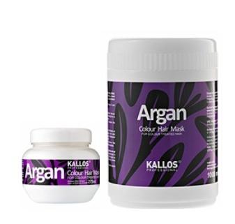 Kallos ARGAN Colour hair mask - maska na barvené vlasy