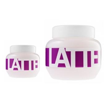 Kallos LATTE Mask - maska na suché vlasy po chemickém ošetření
