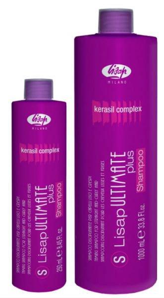 Lisap ULTIMATE SHAMPOO - uhladzujúci šampón na vlnité a kučeravé vlasy
