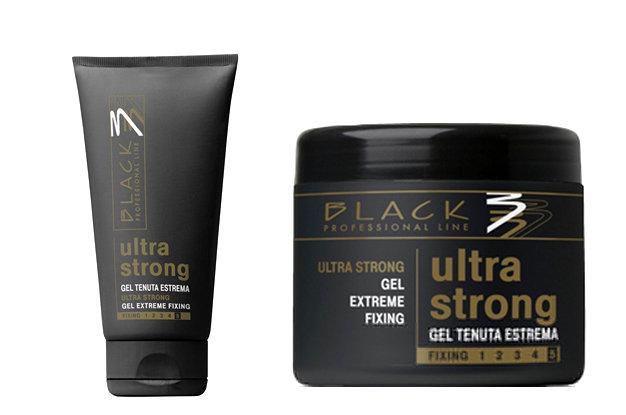 BLACK Styling Ultra Strong Gel - modelovací gél na vlasy ultra silne tužiací