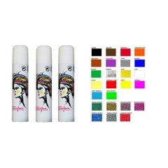 Toufar Hair Glitter spray - farebný a glitrový lak na vlasy