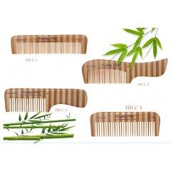 Olivia Garden Healthy Hair Bamboo Comb - hřebeny na vlasy z bambusu