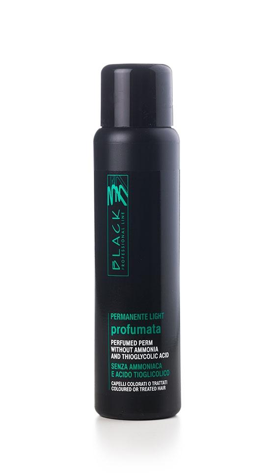Black Perma Light - objemová trvalá pre farbené, odfarbené  a poškodené vlasy, bez amoniaku  500 ml