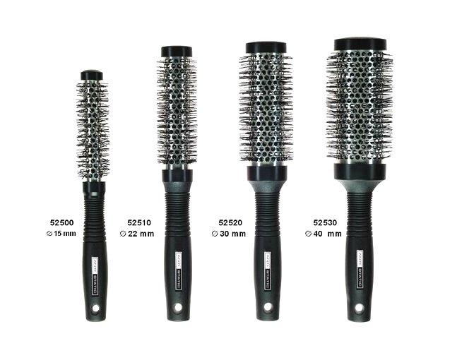 Hliníkové kefy na fúkanie vlasov PAVES