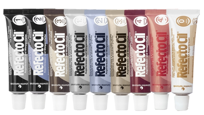 RefectoCil - barvy na obočí a řasy a bradu