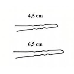 Vlásenky do vlasů profilované, barva černá