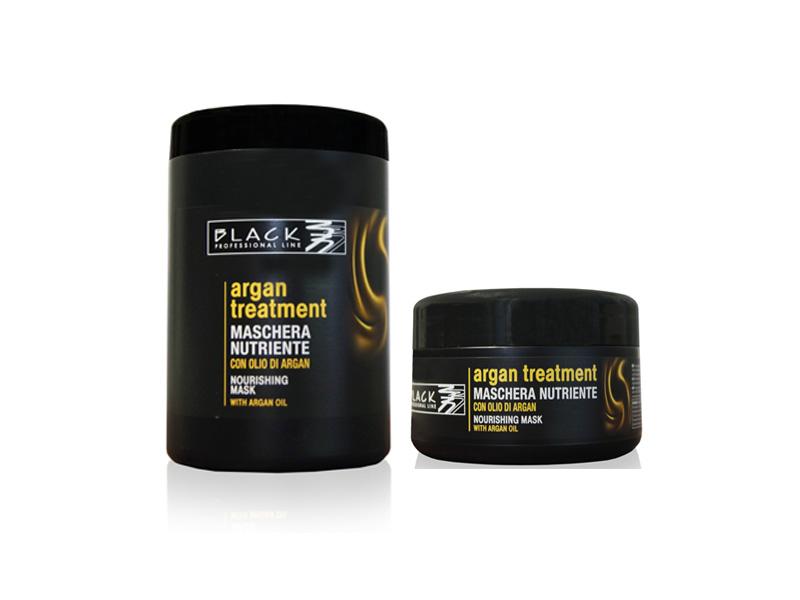 Black Argan Treatment Maschera - Arganová vyživující maska