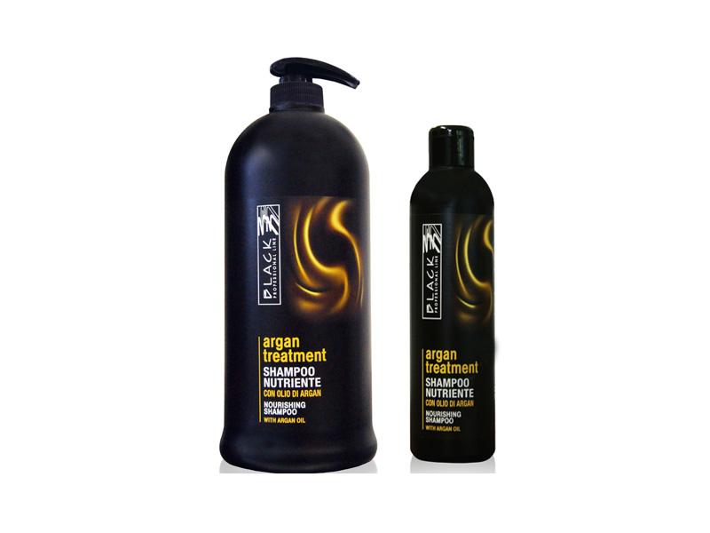 Black Argan Treatment Shampoo - Arganový vyživujúci šampón