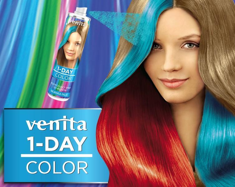 Venita 1- Day color - 1 dňový farbiaci sprej, 50 ml