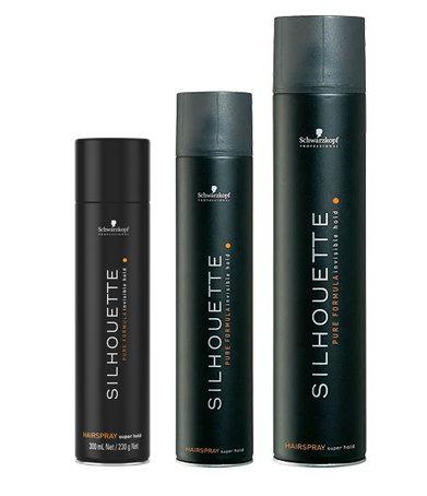 SCHWARZKOPF Silhouette Super Hold Hairspray - lak na vlasy s extra silným spevnením