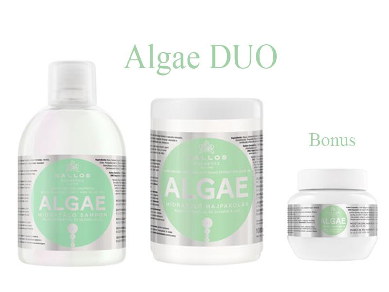 Kallos ALGAE DUO - šampón + maska