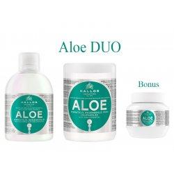 Kallos ALOE DUO - šampón + maska